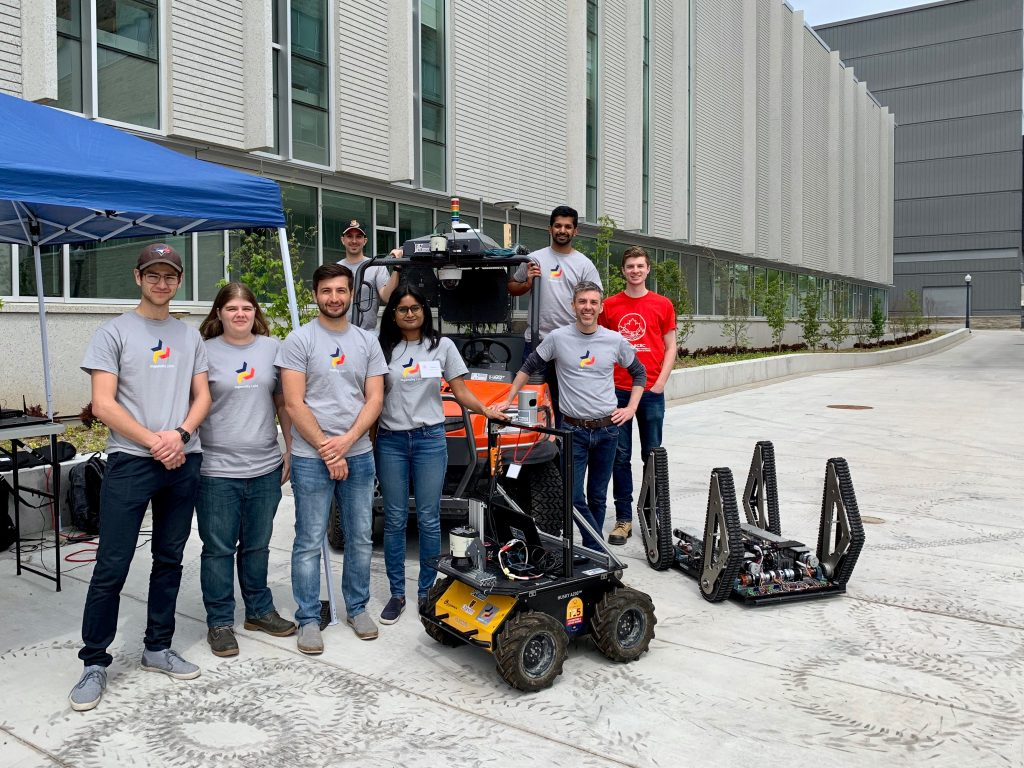 Ingenuity Labs, Off Road Robotics group at NCRN 2019