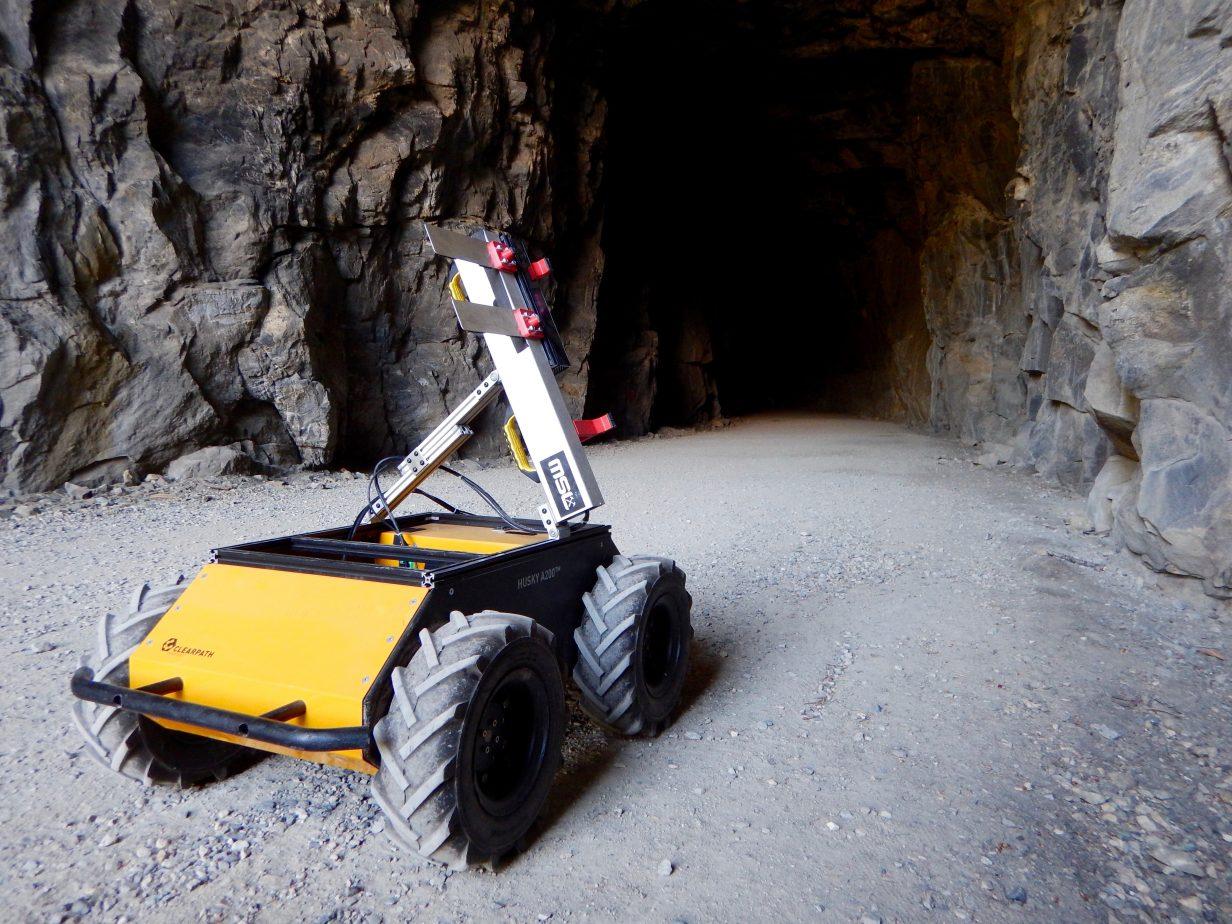 Autonomous Mining Robot